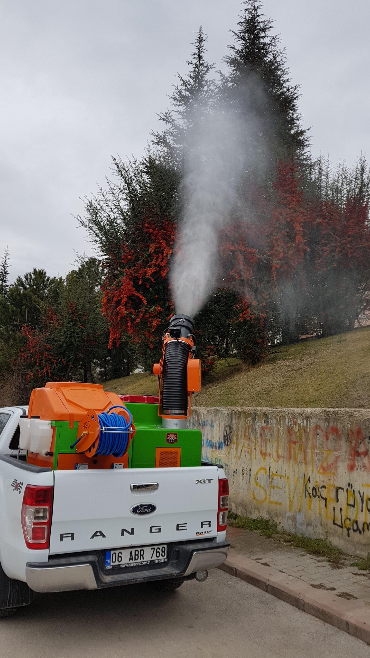 Truck Mounted Mistblower Machine  Ulv Machine  Ulv Fogging