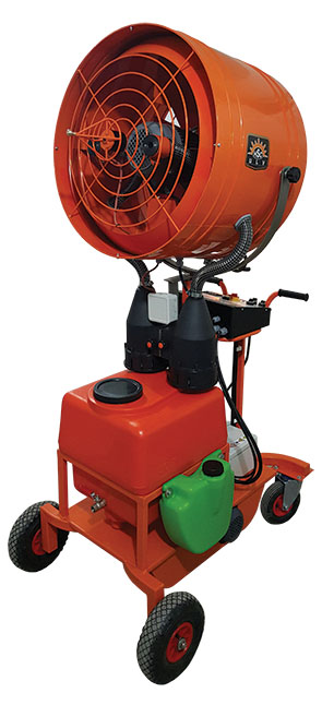 greenhouse ulv fogging machine